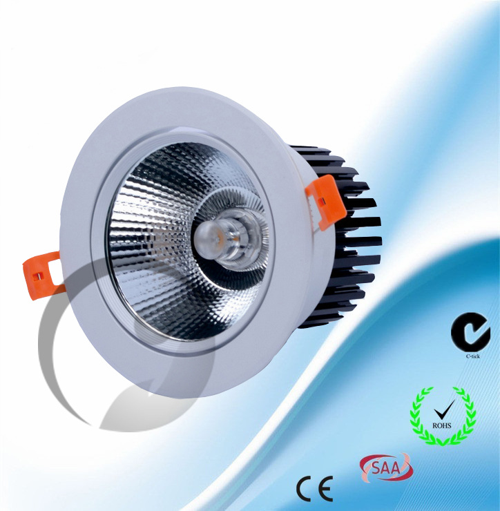 LED COB Downlight 3-30W angle adjustable